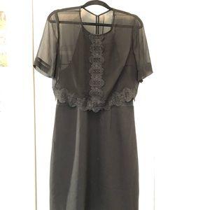 EUC Reiss black dress!